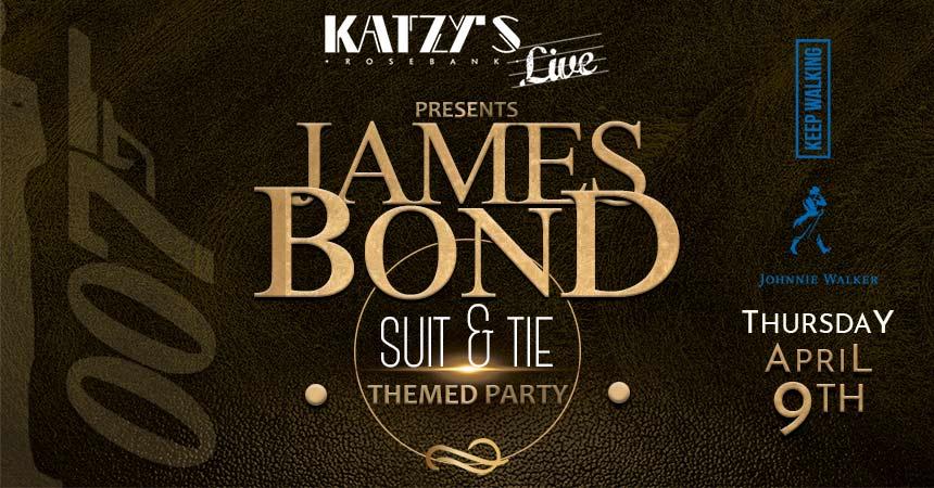 James Bond Theme Party by Katzy's Live Rosebank