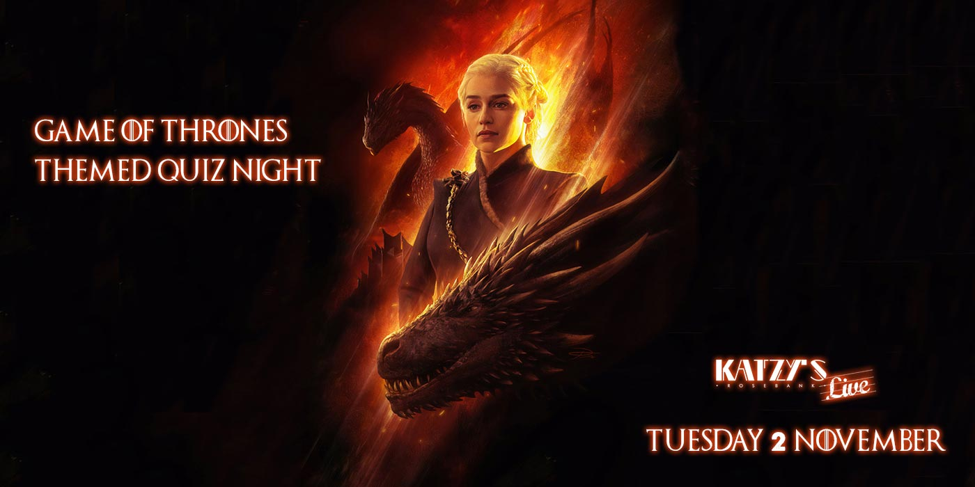 Game of Thrones Quiz Night at Katzy's Live